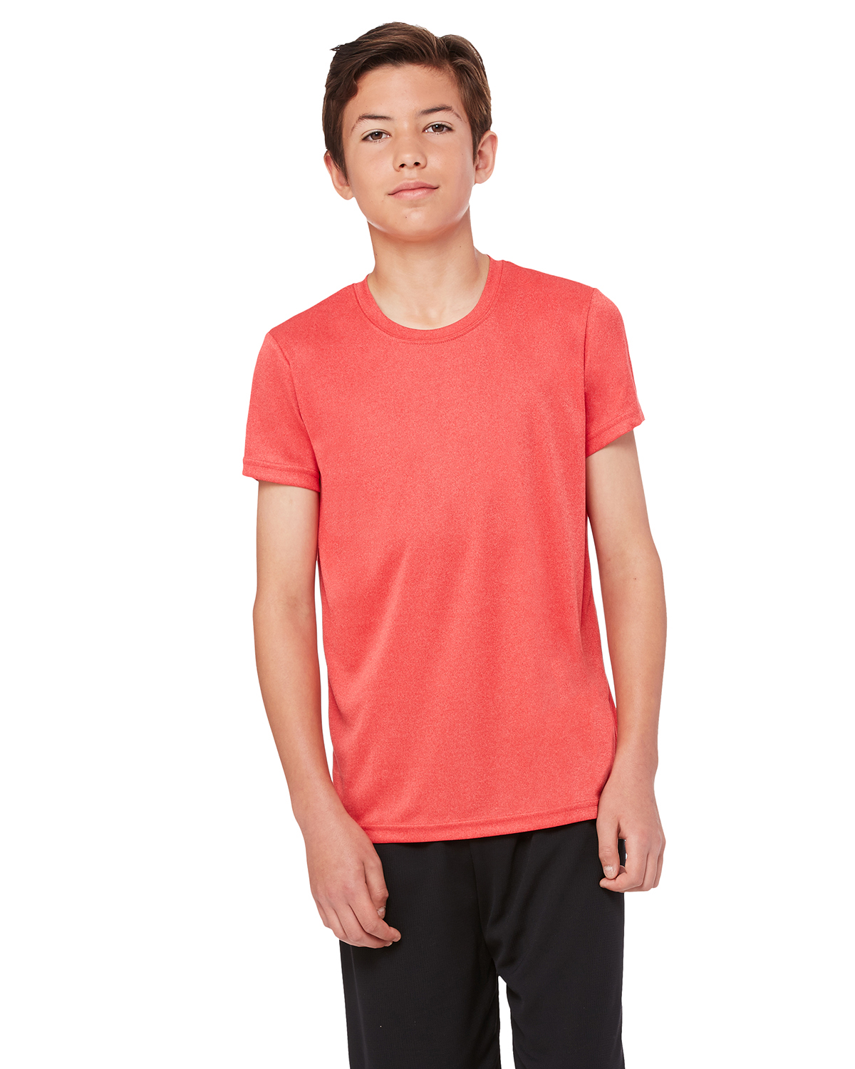 All Sport Y1009 Boys for Team 365 Performance short sleeve TShirt at GotApparel