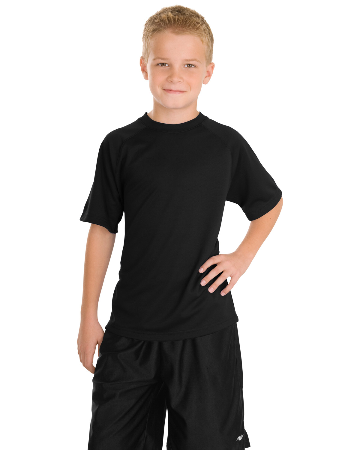 Sport-Tek Y473 Boys Dry Zone Raglan T-Shirt at GotApparel