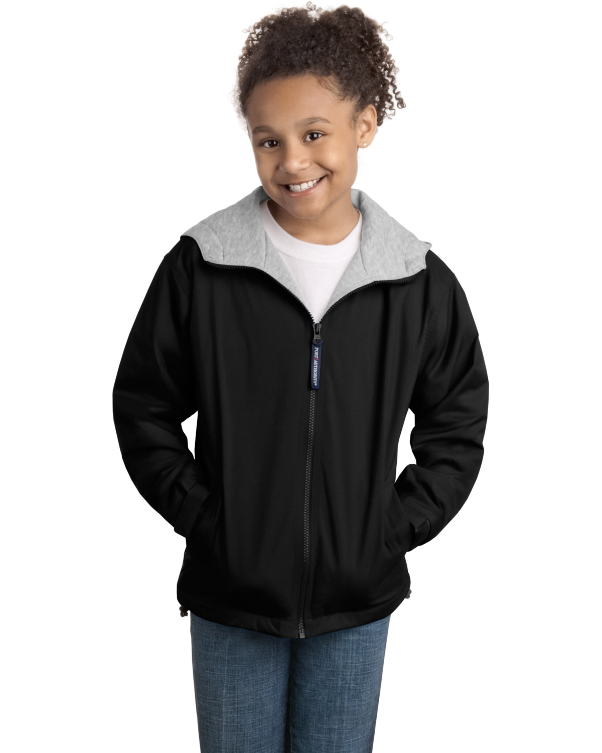 Port Authority YJP56 Girls Team Jacket at GotApparel