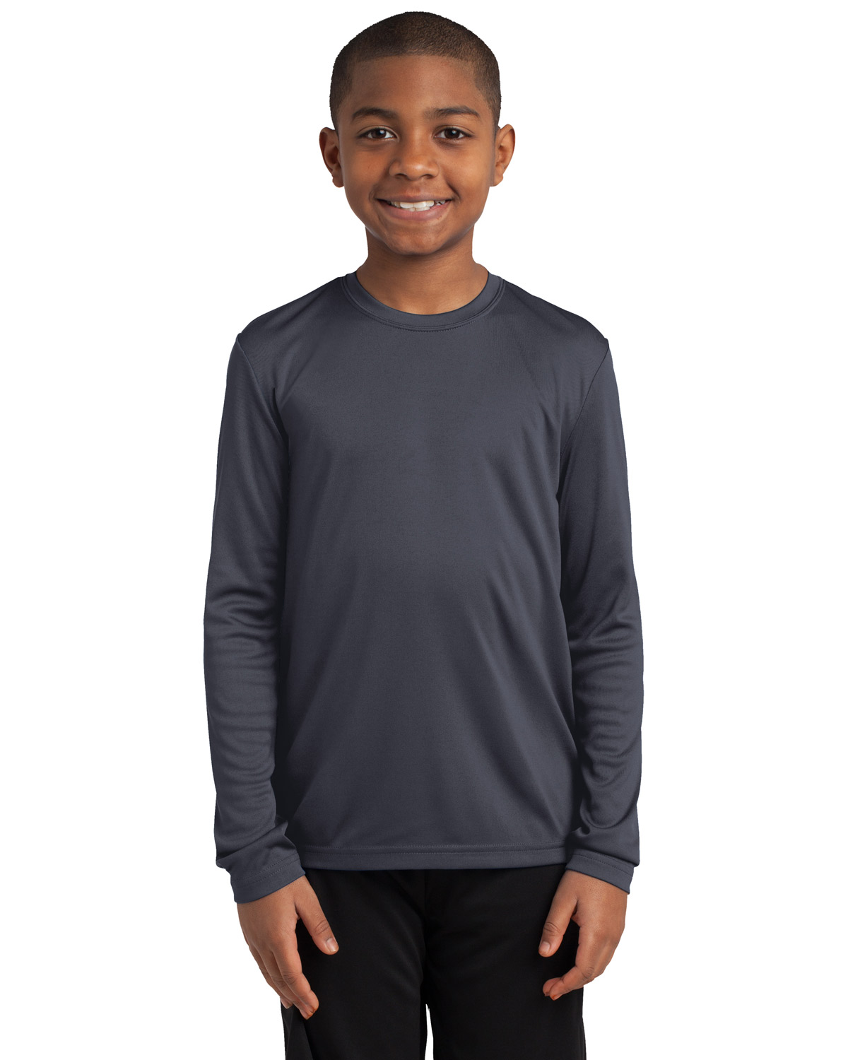Sport-Tek YST350LS Boys Long Sleeve PosiCharge Competitor™ Tee at GotApparel