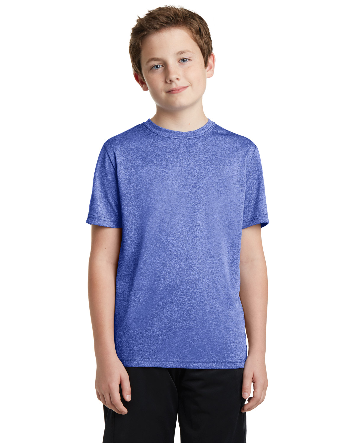 Sport-Tek YST360 Boys Heather Contender™ Tee at GotApparel