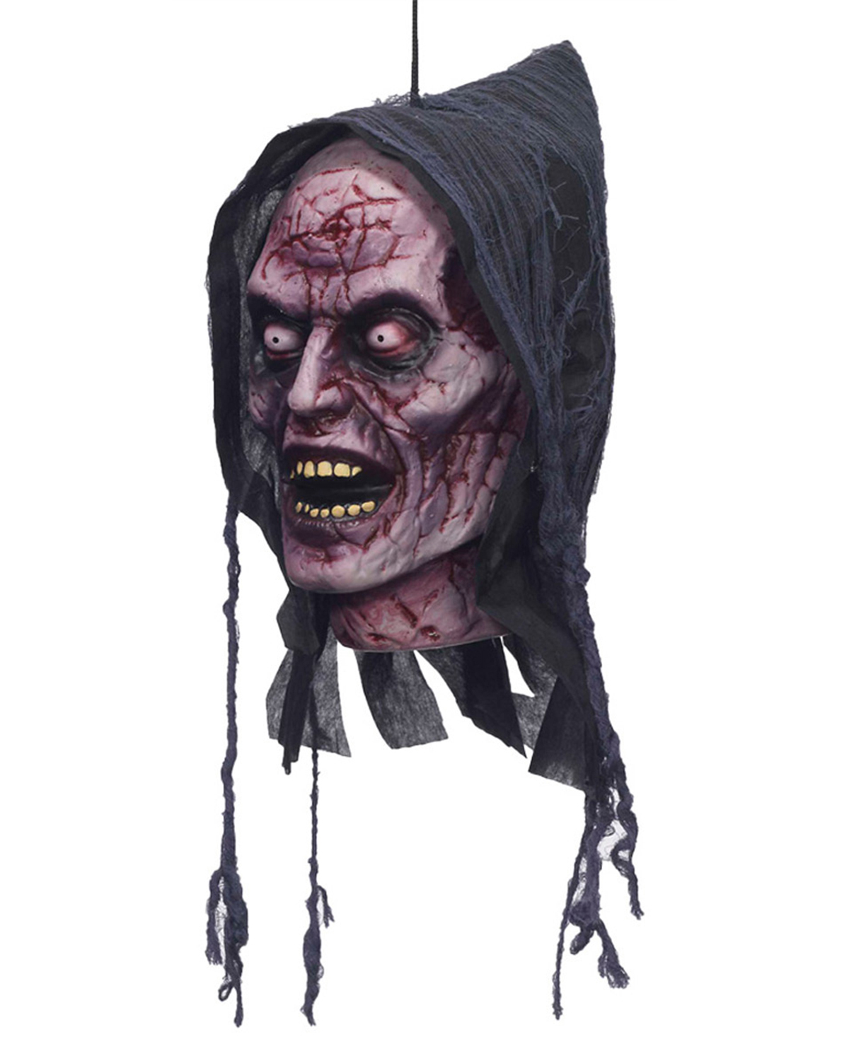 Halloween Costumes FM72886 Ghost Poly Foam Head at GotApparel