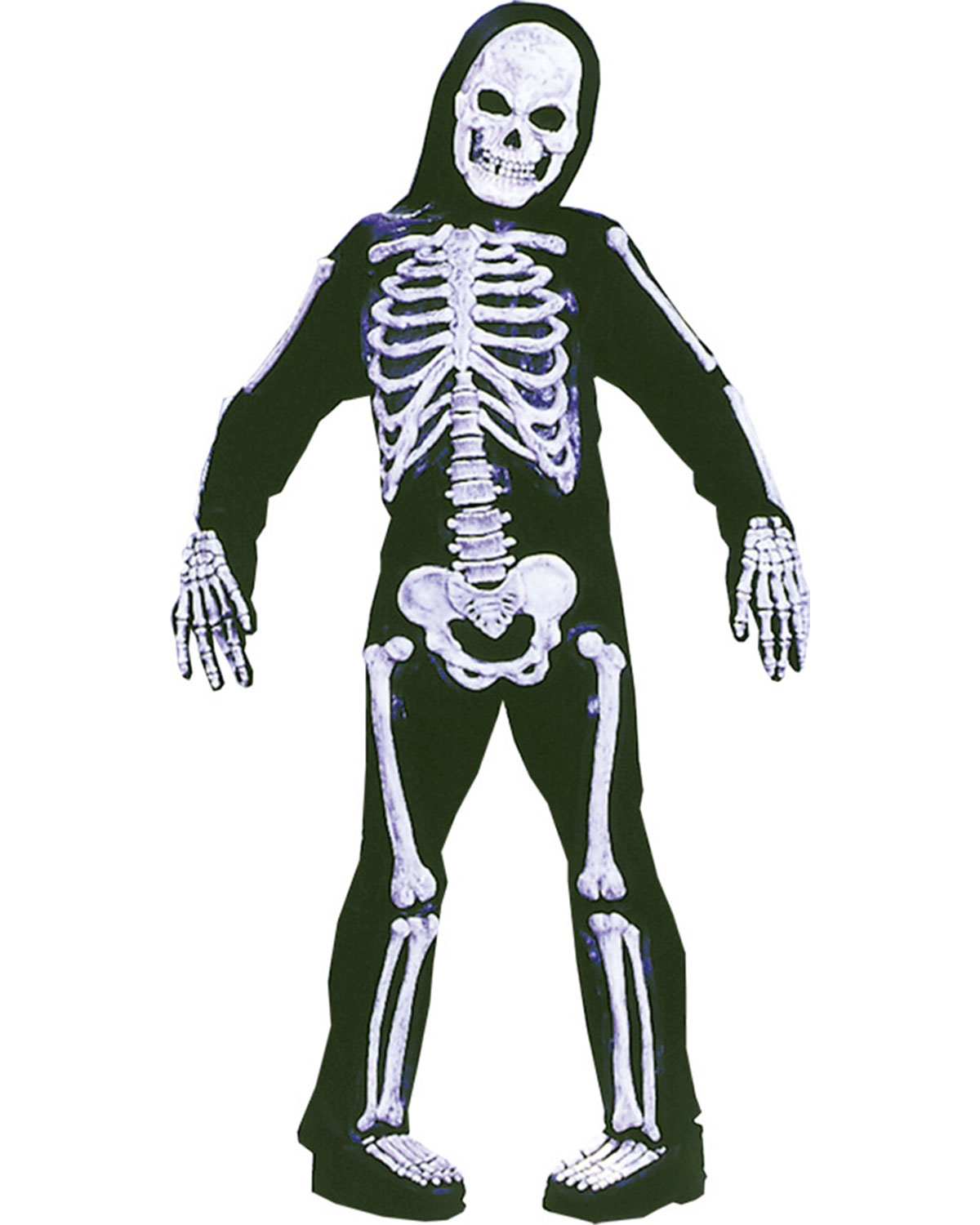 Halloween Costumes FW8736MD Skelebones Child Medium at GotApparel