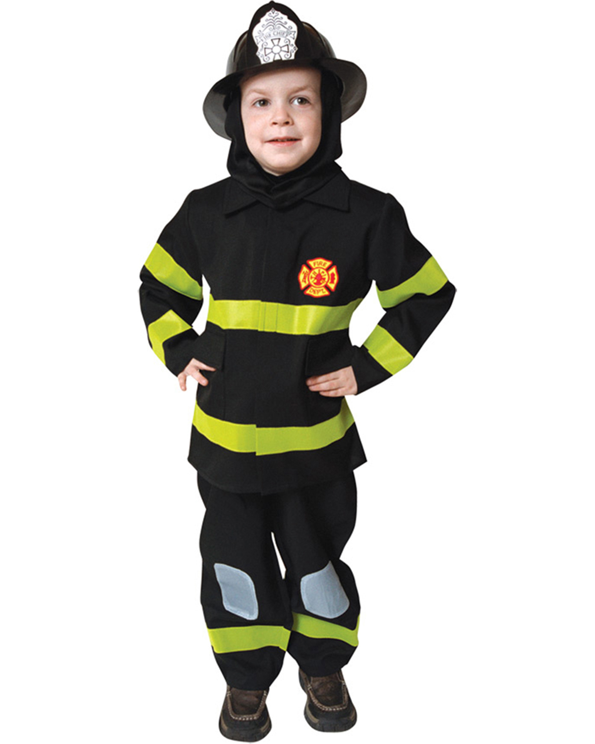 Halloween Costumes UP203T Toddlers Fire Fighter 3 To 4 Toddler at GotApparel