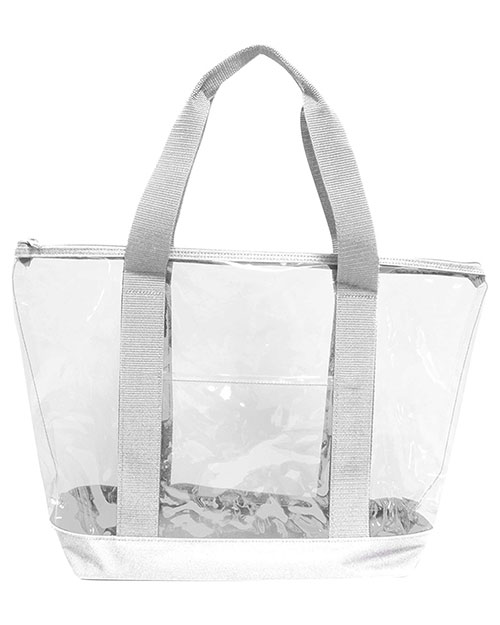 UltraClub 7012 Unisex Game Day Clear Tote at GotApparel