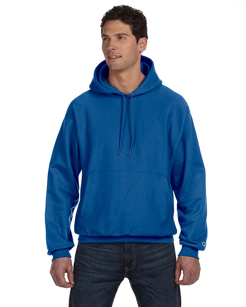 Champion S1051 Men Reverse Weave 12 oz. Pullover Hood at GotApparel