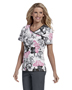 Landau 4120 Women Bound Surplice Top