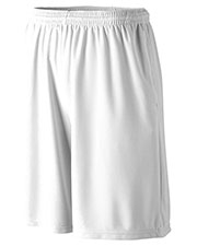 Augusta 803 Men Longer Length Wicking Short With Pocket