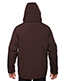 North End 88159 Men Glacier Insulated Three-Layer Fleece Bonded Soft Shell Jacket With Detachable Hood