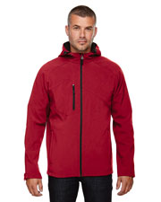 North End 88166 Men Prospect Two-Layer Fleece Bonded Soft Shell Hooded Jacket