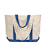 Ultraclub 8871 Unisex Large Canvas Boat Tote