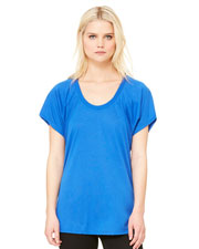 Bella + Canvas B8801 Women Flowy Raglan T-Shirt