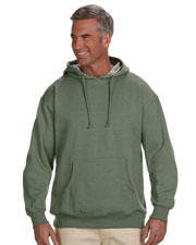 Custom Embroidered Econscious EC5570 Adult 7 Oz. Organic/Recycled Heathered Fleece Pullover Hood