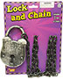Halloween Costumes FM60267 Unisex Lock And Chain