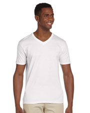 Gildan G64V Men Softstyle 4.5 Oz. V-Neck T-Shirt