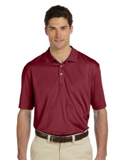 Harriton M353 Men Double Mesh Sport Shirt