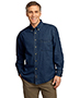 Port & Company SP10 Men Long-Sleeve Value Denim Shirt