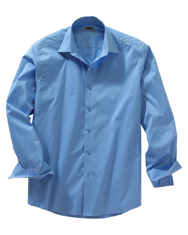 Edwards Garment Men/'s Long Sleeve Button Front Spread Collar Dress Shirt 1033