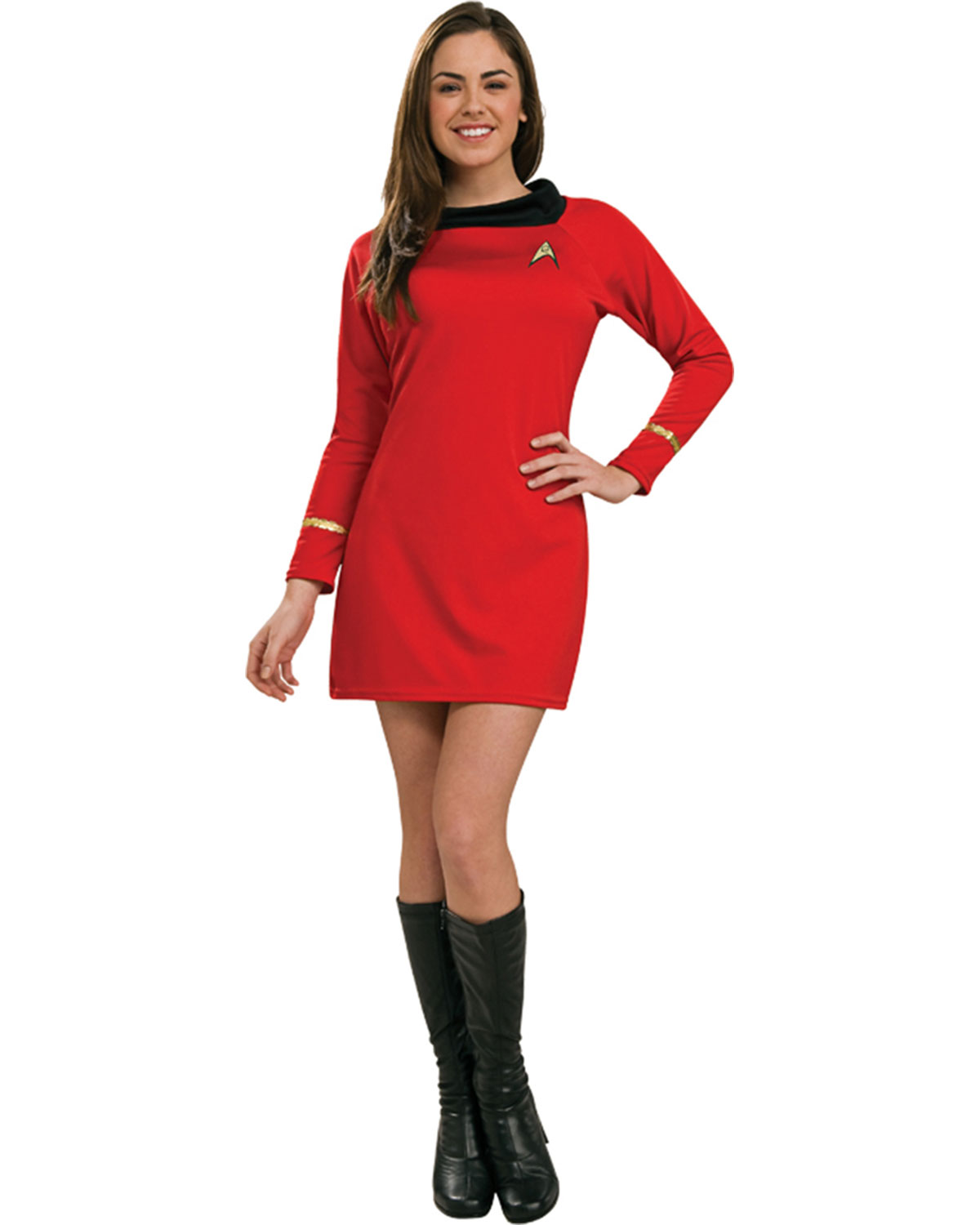 Details about Morris Costumes Women's Tv & Movie Characters Star Trek Dress Red XS. RU889061XS