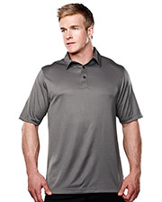 Tri-Mountain Performance 038 Men's Spades Short-Sleeve Knit Polo Shirts at GotApparel