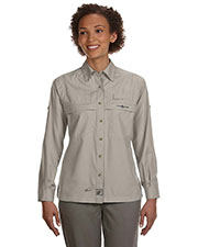 Hook & Tackle 1015L Women Peninsula Long Sleeve Performance Fishing Shirt at GotApparel