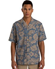 Edwards 1036 Men Tropical Hibiscus Camp Shirt at GotApparel