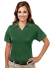 TM Performance 104 Women's 7.7 Oz Johnny Collar Golf Shirt at GotApparel