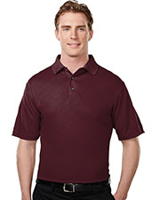TRI-MOUNTAIN PERFORMANCE 108 Men Tenacity Poly Ultracool Short Sleeve Mesh Golf Shirt at GotApparel