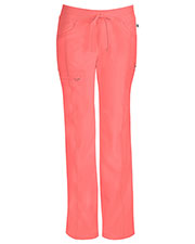 Cherokee 1123A Women Low Rise Straight Leg Drawstring Pant at GotApparel