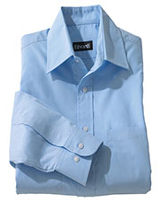 Edwards 1160 Men's Broadcloth Long-Sleeve Shirt at GotApparel
