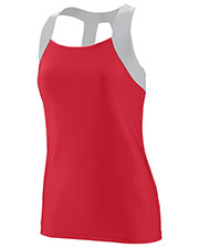 Augusta 1209 Girls Jazzy Open Back Tank at GotApparel