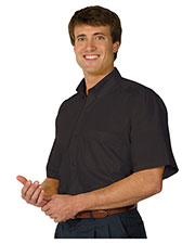 Edwards 1245 Men's Poplin Short-Sleeve Shirt at GotApparel
