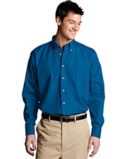 Edwards 1280 Men Poplin Long Sleeve Shirt at GotApparel