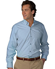 Edwards 1295 Men Poplin Long Sleeve Shirt at GotApparel