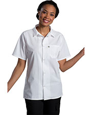 Edwards 1305 Unisex Mesh Back Cook Shirt at GotApparel