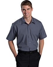 Edwards 1313 Men Short Sleeve Broadcloth Shirt at GotApparel