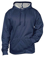 Badger 1450  Pro Heather Fleece Hooded Sweatshirt at GotApparel