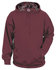 Badger 1464 Men Digital Color Block Performance Hoodie at GotApparel