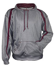 Badger 1467  100% Polyester Performance Fusion Hooded Sweatshirt at GotApparel