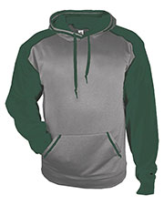 Badger 1468 Men Sport Heather Hood at GotApparel