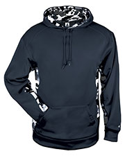 Badger 1469  Camo Colorblock Hood at GotApparel