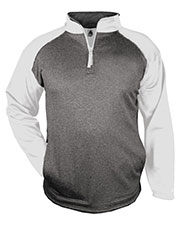 Badger 1484  Sport Heather 1/4 Zip at GotApparel