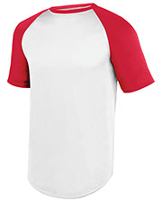 Augusta 1508  Wicking Short Sleeve Baseball Jersey at GotApparel