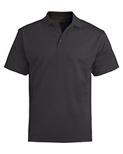 Edwards 1576 Men Moisture Wicking Contrast Neck Sport Polo Shirt at GotApparel