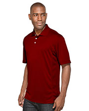Tri-Mountain 158 Men Vigor Poly Ultracool Pique Golf Shirt at GotApparel