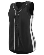 Augusta 1669 Girls Sleeveless Winner Softball Jersey at GotApparel