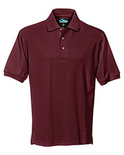 Tri-Mountain 168 Men Signature Cotton Pique Short Sleeve Golf Shirt at GotApparel
