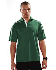 TRI-MOUNTAIN PERFORMANCE 174 Men Titan UltraCool Short Sleeve Knit Polo Shirt at GotApparel