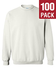 Gildan G180 Men Heavy Blend 8 Oz. 50/50 Fleece Crew 100-Pack at GotApparel
