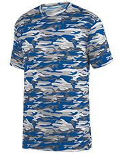 Augusta 1806 Boys Youth Camo Wicking Tee at GotApparel